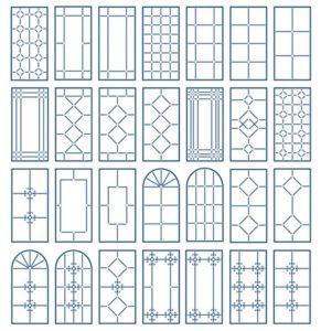 Узоры для раскладки окна