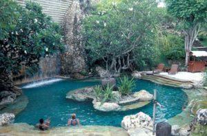 Тропический остров на даче