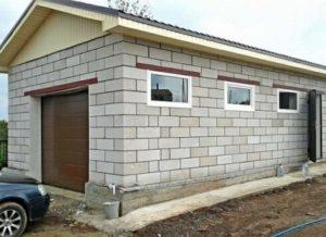 Отдельный гараж для дачи