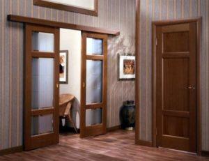 Две створки дверей