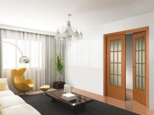 Квартира с желтым креслом