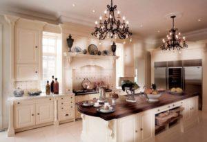 Кухня в стиле англии