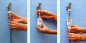 Смягчитель воды монтируется