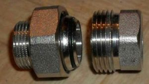 Вид фитинга для трубопроводов - муфта