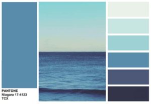 Палитра синего цвета