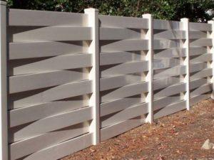 Забор из ПВХ - разновидность дизайна