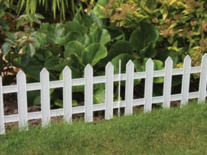 Забор из ПВХ для растений