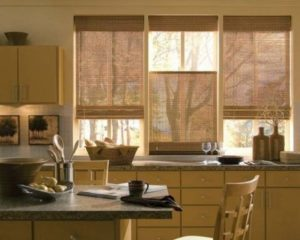 Современная штора кухни