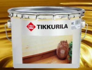 Краска по дереву фирмы Тиккурила