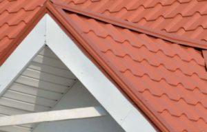 Торцовая планка крыши