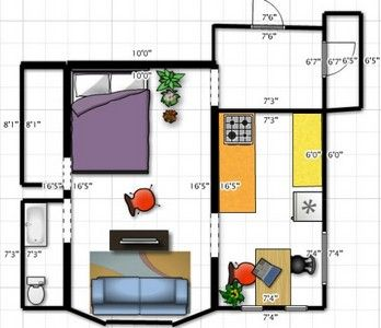 расстановка мебели - как правильно расставить мебель в доме