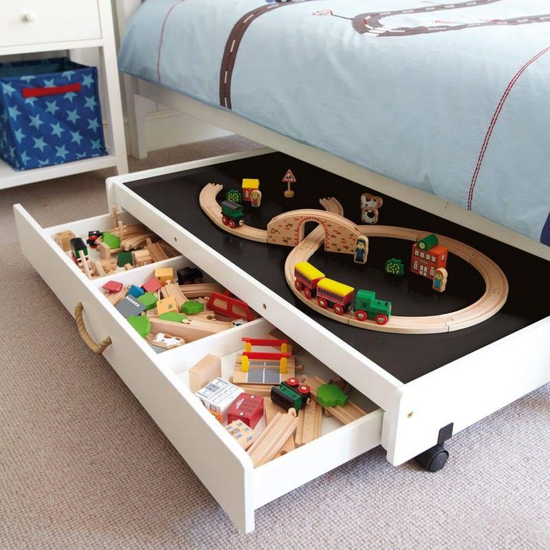 как сделать выдвижные ящики для детей