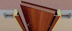 3Д модель сейф-двери