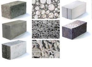 Виды бетона для плит как заштукатурить кирпичную стену цементным раствором на улице