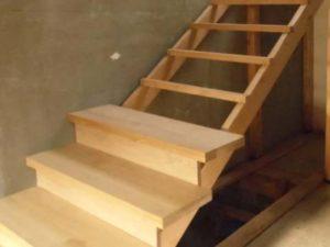 Как делать лестницу из дуба