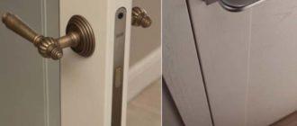 Дверь с магнитном замком