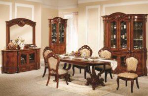 Ореховая мебель гостиной