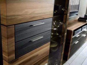 Ореховая мебель кухни