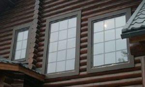 Дом с пластиковыми окнами