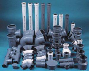 Трубы и фиттинги для канализации