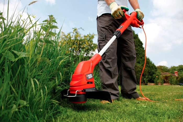 Правила покоса травы газонокосилкой