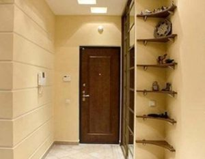 Шкаф-купе в отделке коридора