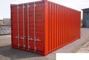 Запор контейнерного типа