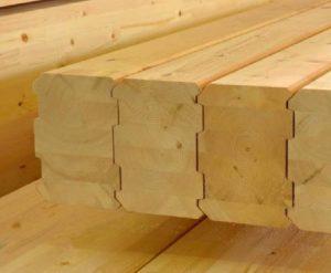 Материал для домика из бруса