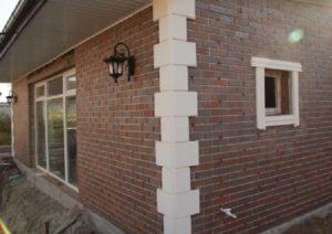 Клинкер для отделки фасадов одноэтажных домов