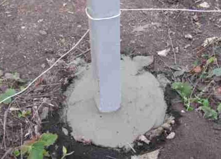 Цементный раствор под столбы виды технологий бетона