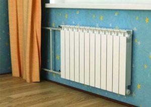 Радиатор в детской