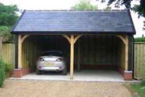 Строительство гаража на 2 машины