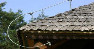 Громоотвод на крыше