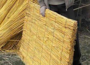 Материал для крыши камышовой
