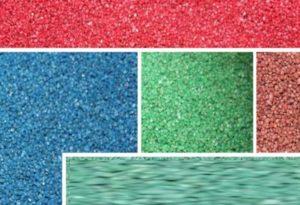 5 ярких цветов мозаичной штукатурки