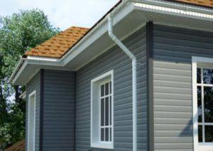 Сайдинг для отделки фасадов одноэтажных домов