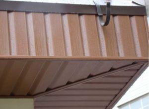 Профлист для обшивки крыши