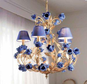 Васильковый цвет в стиле прованс