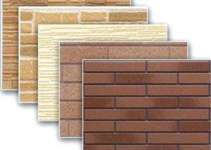 Материал для отделки фасада панелями