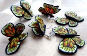 Искусственные бабочки своими руками