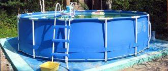 Внешний вид бассейна