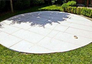 Площадка для бассейна