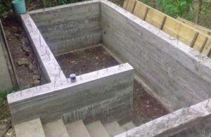 Строительство земляного погреба