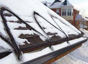 Крыша с системой против льда
