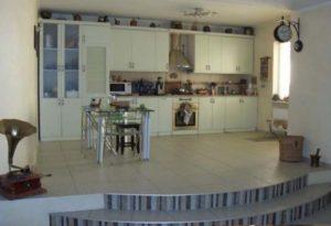 2-х уровневый подиум кухни