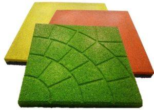 Виды резинового покрытия