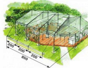 Эскиз летнего домика для кухни