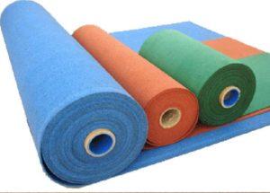 3 рулона резинового покрытия