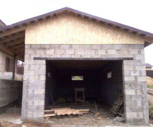 Фото гаража из блоков