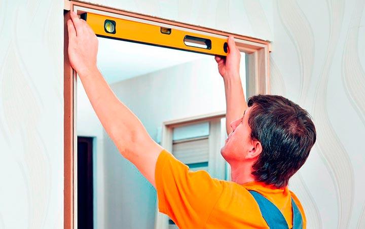 Измерение дверного проема